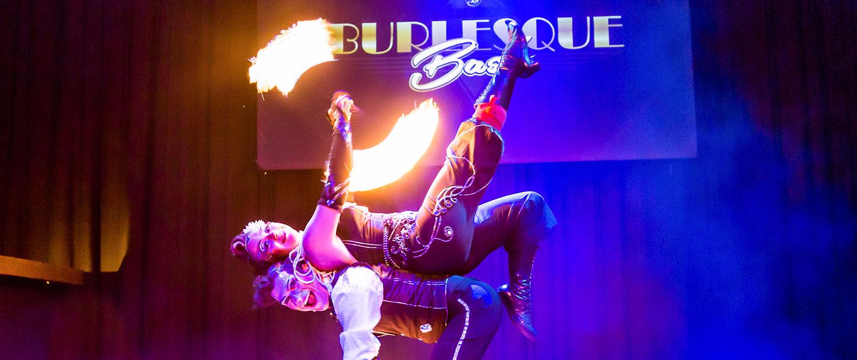Burlesque Feuershow Basel